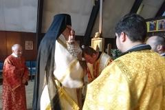 Besuch des Erzbischofs Jean