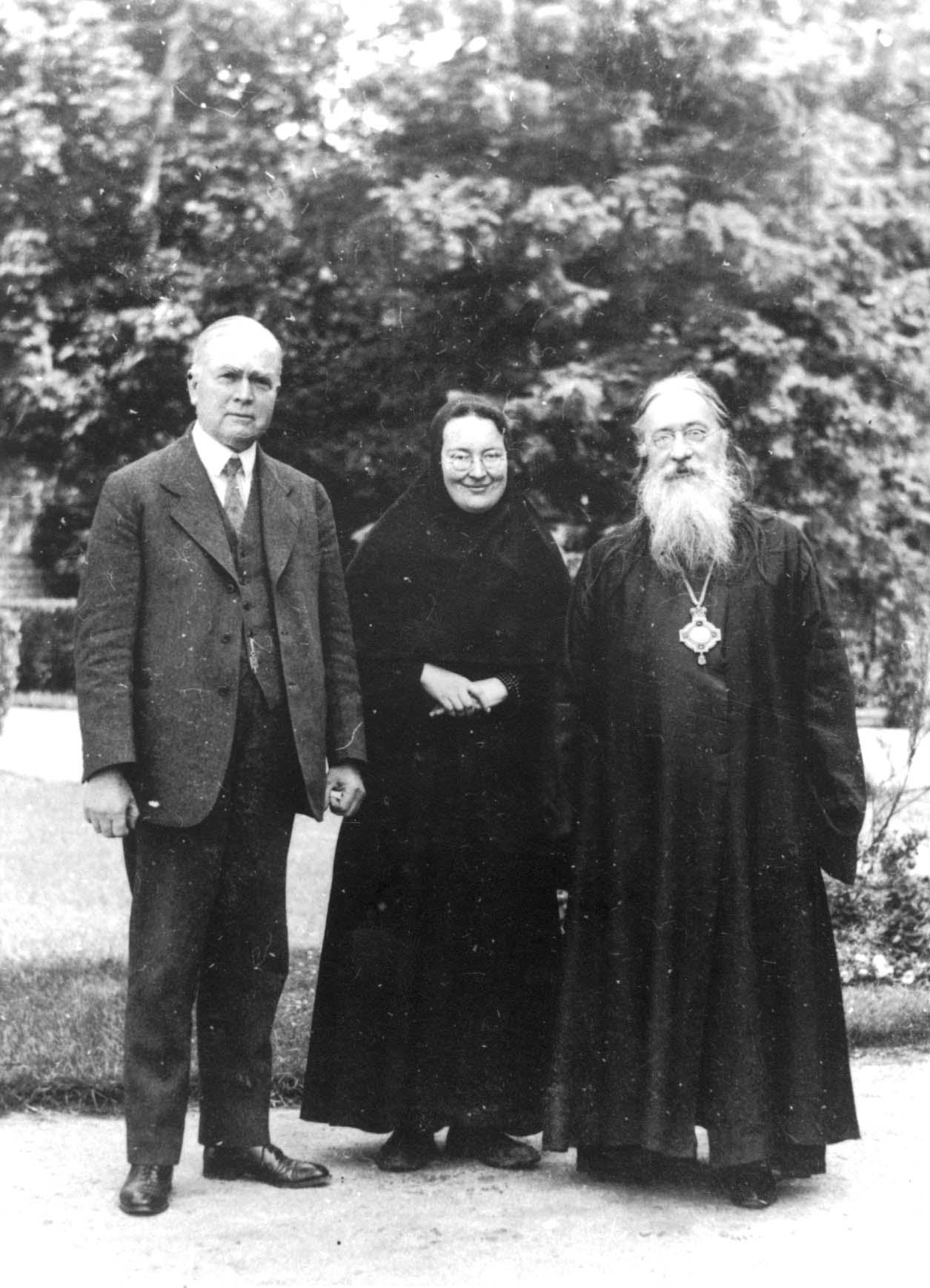 Erzbischof Evlogij und Mutter Maria