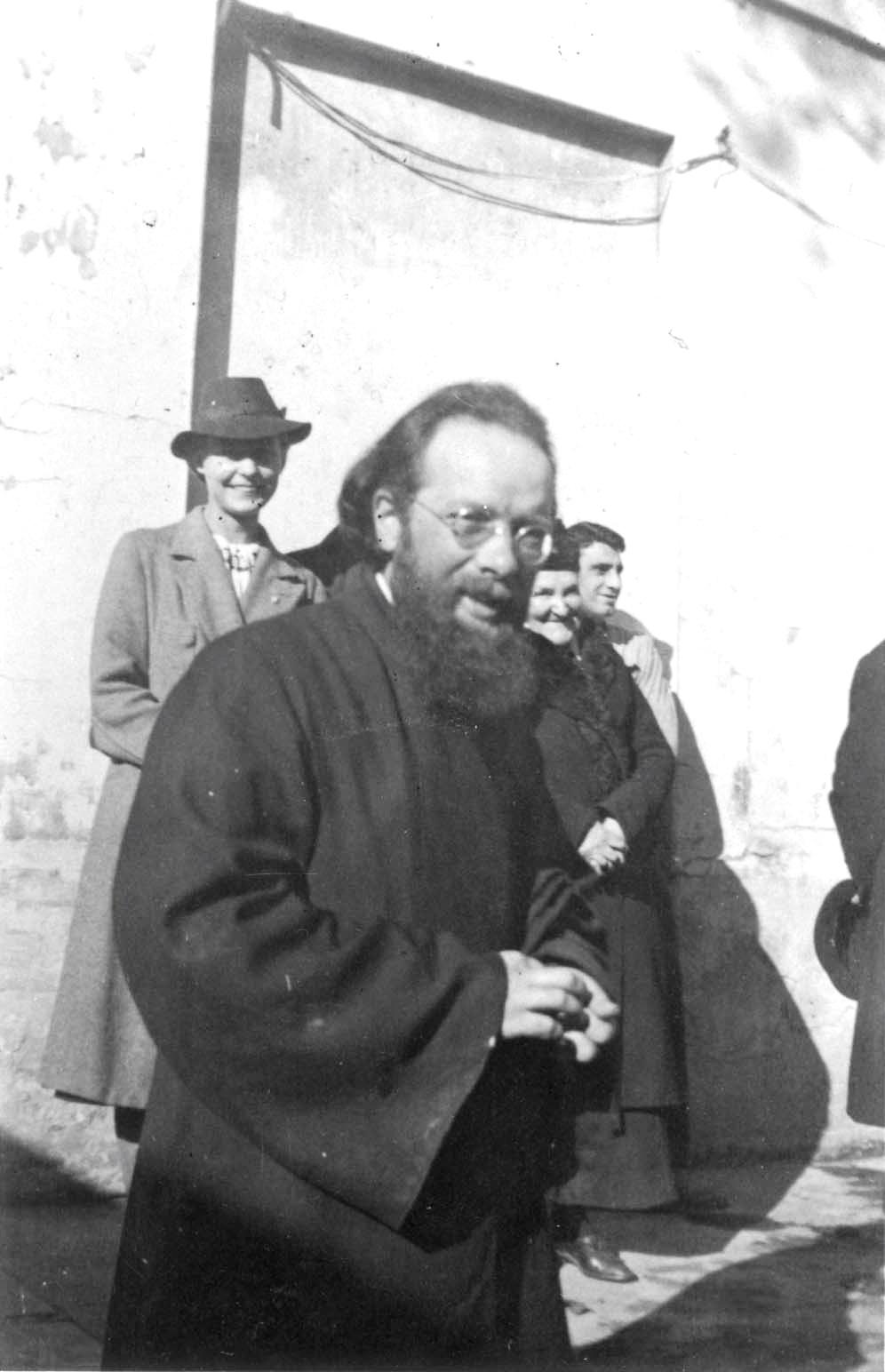 Hl.Dimitrij Klepinin, Priester in der Kirche in Rue  du Lourmel, gestorben in der KZ Dora, nahe Ravensbrück, heiliggesprohen 2003