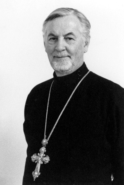 Vater Alexander Schmemann, Theologe und Professor bis 1951 in dem Institut St.Serge
