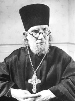 Vater Georg Florovskij, Theologe und Professor in dem orthodoxen  Institut St.Serge