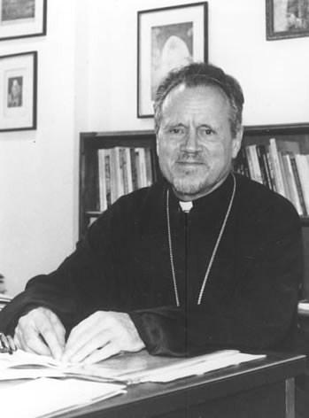 Vater John-Meyendorff, Theologe und Professor in St.Serge in Paris