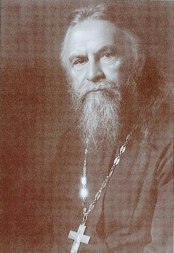 Vater Sergej Bugakov, der erste Dekan des orthodoxen  Instituts  St.Serge in Paris, 1936