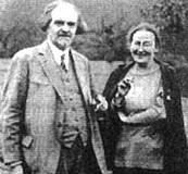 Der Philosoph Nikolaj Berdjaev und die spätere Mutter Maria Skobtzova