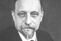 Professor Anton Kartaschew, Institut St.Serge in Paris