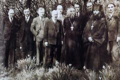 Professoren des orthodoxen Instituts St.Serge  in Paris 1930